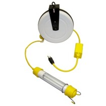 1993-1997 Toyota Supra General Manufacturing Stubby 13 Watt Fluorescent Light Reel With 40' Cord