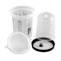 1966-1970 Ford Falcon Gerson Company Gerson Lid and Paint Cup Liner System - Medium Kit/190 Micron Filter