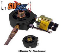 1998-2000 Ford Ranger Glowshift Oil Filter Sandwich Adapter (20MM)