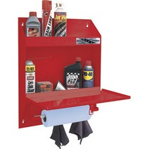 1964-1972 Chevrolet Chevelle Go Rhino Lockable Organizer With Storage Shelf & Towel Holder - Black