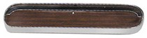 1964-1973 Ford Mustang Goodmark Door For Glove Box (Woodgrain Finish)