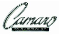 68-69 Camaro Goodmark Header Emblem (Camaro By Chevrolet)