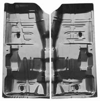 1964-1972 Chevrolet Chevelle Goodmark Floor Pan (Left - Driver) - 30 W X 62 L