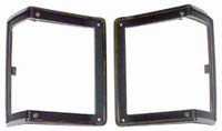 72 Chevelle Goodmark Bezels For Parking Light
