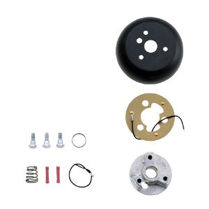 84-88 Ford All Models (with horn on turn steering wheel), 84-91 Ford All Models (with horn on turn steering wheel), 89-91 Ford All Models (with horn on turn signal lever) Grant Steering Hub Adapter - Standard