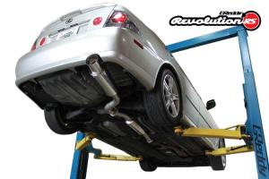MANZO STAINLESS STEEL CATBACK EXHAUST SYSTEM FOR LEXUS IS300 01-05 3.0L 2JZ-GE