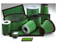 2002-2010 Lamborghini Murcielago Green Air Filters