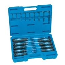 1968-1969 Ford Torino Grey Pneumatic 18 Piece Tamper-Proof Non-impact Star Screwdriver and Key Set