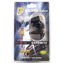 2007-9999 Honda Fit Gsi  12 ft. High Definition HDMI Cable, Gold