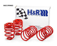 1996-1999 Audi A4 H&R Lowering Springs - Race (Lowers Front:1.9 inch/ Rear:1-1/2)