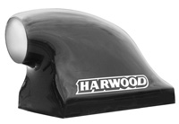 "1988-1994 Audi V8 Harwood Scoop - The ""Big O"" Dragster Scoop, Base 22"" L x 13.75"" W, 16"" Overall Height, 14.5"" to top of opening, 6.5"" Round Opening"