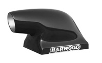 "1988-1994 Audi V8 Harwood Scoop - The ""Slick O"", Dragster Scoop, Base 22"" L x 13.75"" W, Overall Height 15.5"", 14.5"" to top of opening, Opening 4.5"" W x 6.5"" H"
