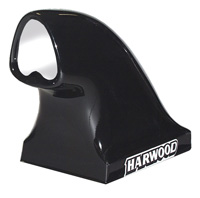 "1988-1994 Audi V8 Harwood Tri Comp II Dragster Scoop - Base 22"" L x 13.75"" W, Overall Height 20.75"", 19.75"" to top of opening, Opening 6.5"" W x 7.5"" H"