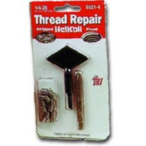 1972-1980 Dodge D-Series Helicoil Thread Repair Kit 1/4-20in.