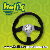 2006-9999 Mercedes CLS-Class Helix Leather Stealth GT Steering Wheel (Black)