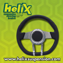 2006-9999 Mercedes CLS-Class Helix Leather Cruiser FX Steering Wheel (Black)