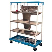 1965-1968 Mercury Colony_Park Herkules Equipment Mobile Parts Shelf Cart