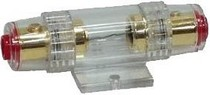 1999-2007 Ford F250 Hitron Gold Plated 4 Or 8 Gauge Standard Agu Water-Proof Fuse Holder
