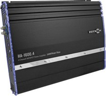 1998-2004 Lexus Lx470 Hitron 1400W Max, 2-Channel Amplifier With Bass Remote (Black)
