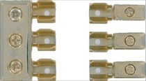 1968-1972 Oldsmobile Cutlass Hitron Gold-Plated 2 Input, 3 Output Agu Fuse Distribution Block