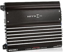 1999-9999 Saab 9-5 Hitron 1200W Max, Pro Series 2-Channel Amplifier With Remote Level Control