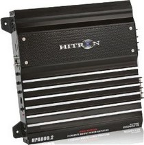 2004-2007 Scion Xb Hitron 800W Max, Pro Series 2-Channel Amplifier With Remote Level Control