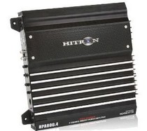2000-2006 Mercedes Cl-class Hitron 800W Max, Pro Series 4-Channel Amplifier With Remote Level Control
