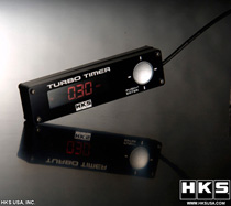 Universal HKS Turbo Timer Type-0 (Black w/ Red Back Light)