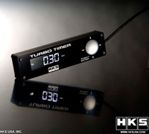 Universal HKS Turbo Timer Type-1 (Black w/ Lt. Blue Back Light)