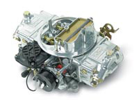 1970-1972 Pontiac LeMans Holley Carburetor - Street Avenger, 4 bbl, 770 cfm, Vacuum Secondary, Automatic Choke, Shiny Zinc
