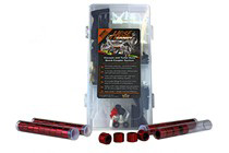 All Vehicles (Universal) Hose Candy Master Kit (18 to 36 Hoses) in case with Red Sidewinders and Black Heat Shrink