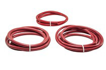 All Vehicles (Universal) Hose Candy Silicone Hose Kit Big Diameter-Red