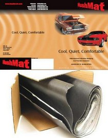 "1995-1997 Audi S6 Quiet Pad PSA - Polymer Filled Vibration Damping Material - 52 "" x 32"" sheet - 1.5 mil thick"