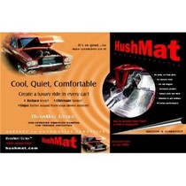 All Jeeps (Universal), All Vehicles (Universal) HushMat Ultra Hood Liner with Dampening Sheet - 6 Piece