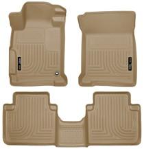 13 16 Honda Accord Sedan Husky Floor Liners   Front U0026 2nd Seat (Footwell