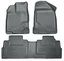 Lincoln Mkx   Ford Edge Husky Floor Liners Front