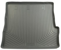 2003-9999 Honda Pilot Husky Classic Style Rear Cargo Liner – Grey (Fits Over Folded Flat 3rd Row Seat, Behind 2nd Seat Rear)