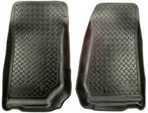 1998-2007 Forester, Wagon and Sedan Husky Classic Style Front Seat Floor Liners - Black