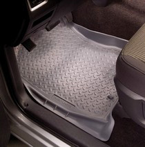 1998-2007 Forester, Wagon and Sedan Husky Classic Style Front Seat Floor Liners – Grey