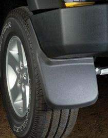 Ford F Ford F Husky Custom Molded Rear Mud