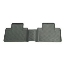 2011-2012 Ford F250 Super Duty Crew Cab, 2011-2012 Ford F350 Super Duty Crew Cab Husky Classic Style 2nd Seat Floor Liner – Grey