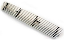 Bolt-On in Pro Car Wear Polished Aluminum in CWOB-04RG Billet Grille