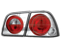 95-96 Nissan Maxima In Pro Car Wear Taillights - Crystal Clear
