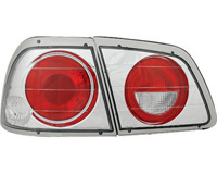 97-99 Nissan Maxima In Pro Car Wear Taillights - Crystal Clear