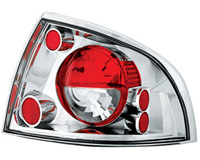 00-03 Nissan Sentra In Pro Car Wear Tail Lights - Crystal Clear