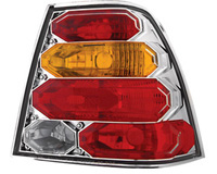 99-05 Volkswagen Jetta In Pro Car Wear Taillights - Crystal Clear w/ Amber Lens