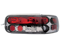 91-96 Chevrolet Caprice, 94-96 Chevrolet Impala SS In Pro Car Wear Tail Lights - Crystal Clear