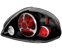 99 05 Pontiac Grand Am In Pro Car Wear Tail Lights Bermuda Black