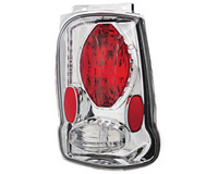 2002-2005 Ford Explorer In Pro Car Wear Tail Lights - Crystal Clear