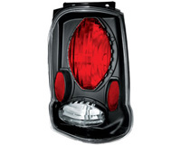 2002-2005 Ford Explorer In Pro Car Wear Tail Lights - Bermuda Black